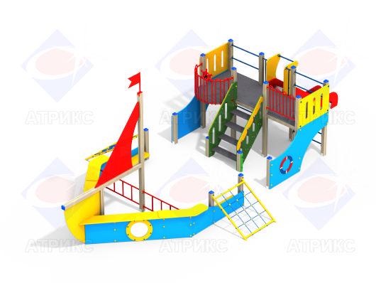 Детский игровой комплекс 3.09 купить в интернет-магазине robinzoniya.ru.