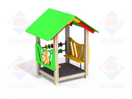 Домик беседка МФ 5.11 для детской площадки купить в Воронеже в интернет-магазине robinzoniya.ru.