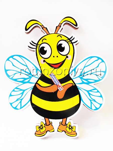Игры Воскобовича персонаж Пчелка Жужа купить в интернет-магазине robinzoniya.ru.
