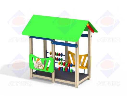 Домик беседка МФ 5.02 для детской площадки купить в Воронеже в интернет-магазине robinzoniya.ru.