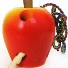 Шнуровка Яблоко крашеное (желто-красное)
