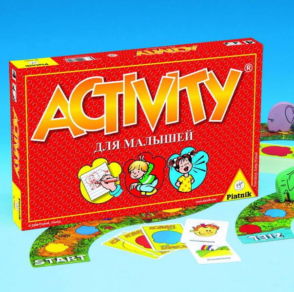 Настольная игра Активити Оригинальная для малышей купить в интернет-магазине robinzoniya.ru.