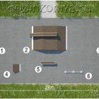 Проект скейт парка SP-04 (для начинающих на 15 человек)
