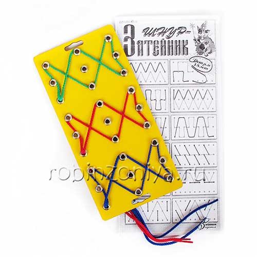 Развивающие игры Воскобовича Шнур затейник купить в интернет-магазине robinzoniya.ru.