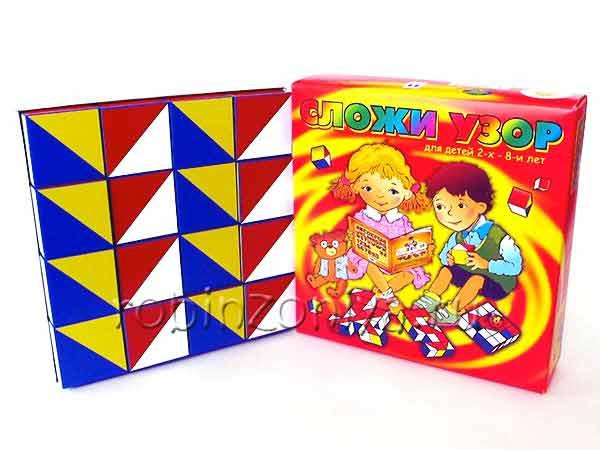 Кубики сложи узор Игры Никитина купить в интернет-магазине robinzoniya.ru.