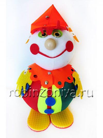 Притворщик Клоун (конструктор собери игрушку)