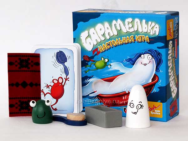 Настольная игра Барамелька купить с доставкой по России в интернет-магазине robinzoniya.ru.
