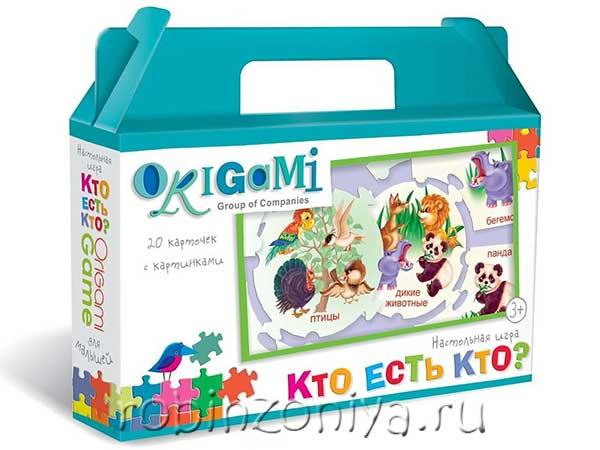 Пазлы малышам Кто есть кто? Origami купить с доставкой по России в интернет-магазине robinzoniya.ru.