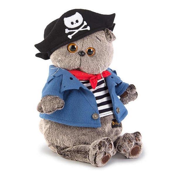 Кот Басик Пират 22 см купить с доставкой по России.