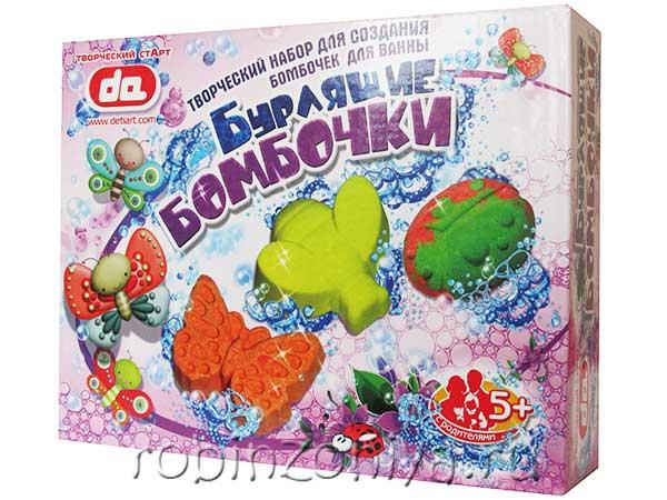 Набор бурлящие бомбочки для ванны Насекомые купить в интернет-магазине robinzoniya.ru.