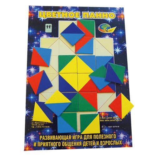 Обучающая игра Цветное панно купить в интернет-магазине robinzoniya.ru.