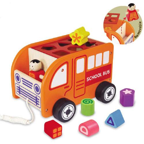Сортер каталка Автобус I'm toy купить в интернет-магазине robinzoniya.ru.