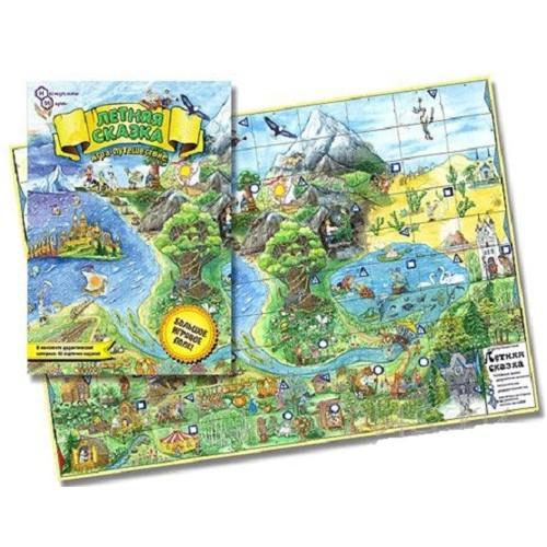 Настольная игра для детей Летняя сказка купить в интернет-магазине robinzoniya.ru.