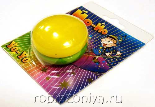 Йо-йо игрушка тренажер купить в интернет-магазине robinzoniya.ru.