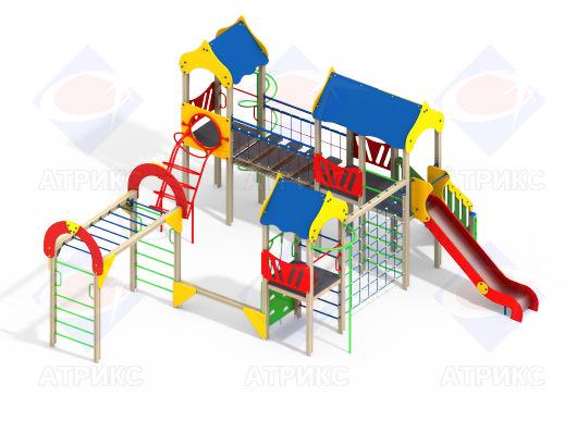 Детский игровой комплекс 3.18 купить в интернет-магазине robinzoniya.ru.