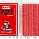 Пластиковые карты для покера Modiano Poker Index 100% пластик, двойной индекс