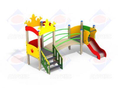 Детский игровой комплекс 2.092 H=700