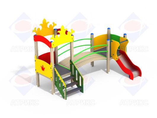 Детский игровой комплекс 2.092 купить в Воронеже в интернет-магазине robinzoniya.ru.