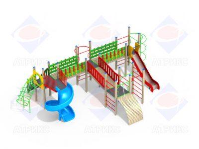 Детский игровой комплекс 4.126 H=1500
