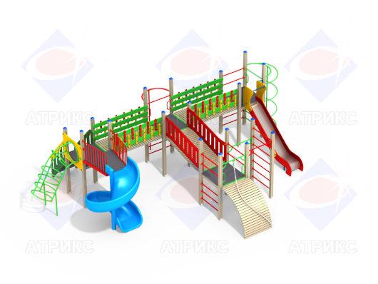 Детский игровой комплекс 4.126 купить в Воронеже в интернет-магазине robinzoniya.ru.