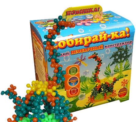 Конструктор Собирай-ка Сундучок 42 элемента купить в интернет-магазине robinzoniya.ru.