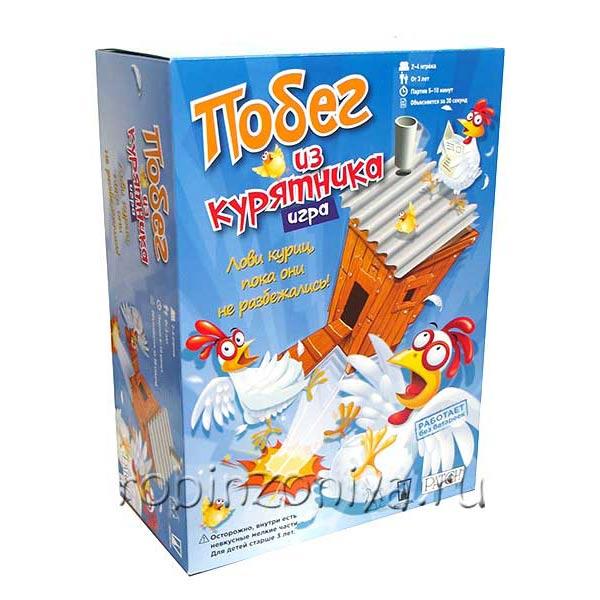 Настольная игра для детей Побег из курятника купить с доставкой по России в интернет-магазине robinzoniya.ru.