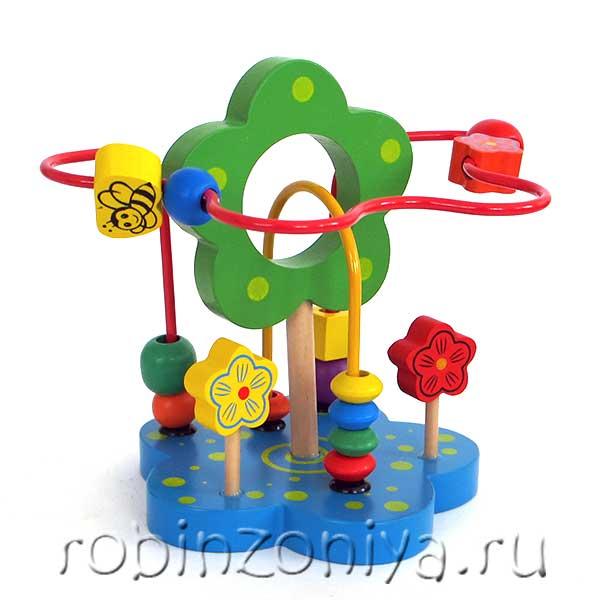 купить игрушку лабиринт в Робинзонии