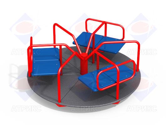 Детская карусель с сиденьями купить в Воронеже в интернет-магазине robinzoniya.ru.