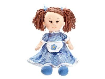 Мягкая поющая кукла Карина в голубом платье, Lava Toys