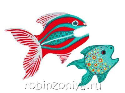 Набор для росписи Рыбки большая, малая