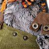 Кот Басик в штанах с подтяжкками 25 см