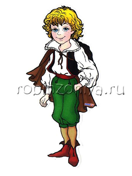 Персонаж Воскобовича Малыш Гео на магните купить в интернет-магазине robinzoniya.ru.