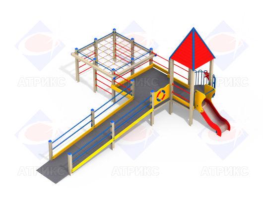 Детский игровой комплекс 3.23 купить в Воронеже в интернет-магазине robinzoniya.ru.
