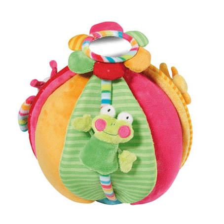 Развивающая игрушка мягкая мяч Кувшинка купить в интернет-магазине robinzoniya.ru.
