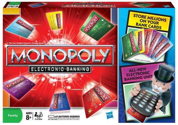 Настольная игра Монополия с банковскими картами купить в интернет-магазине robinzoniya.ru.