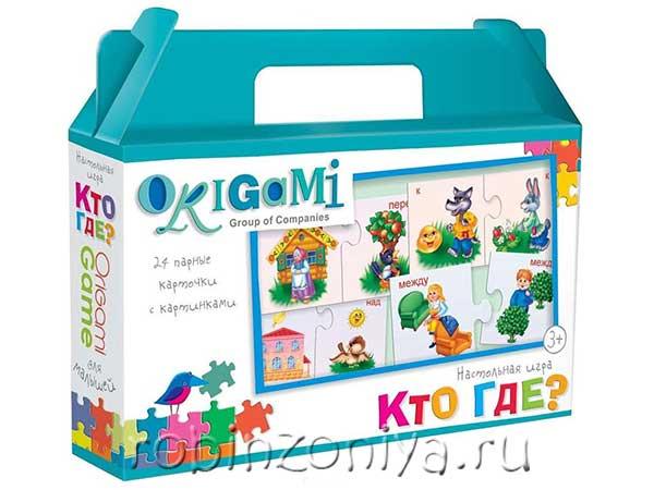 Пазлы малышам Кто где? Origami купить с доставкой по России в интернет-магазине robinzoniya.ru.