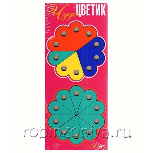 Игра Воскобовича Чудо-цветик купить в интернет-магазине robinzoniya.ru.