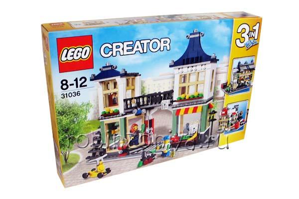 Конструктор Lego Creator (Лего Криэйтор) 31036 Магазин игрушек купить с доставкой по России в интернет-магазине robinzoniya.ru.