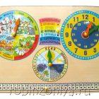 Календарь природы c часами