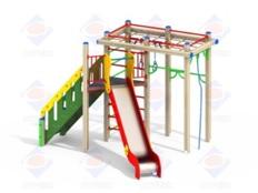 Детский игровой комплекс 1.23 Верхолаз Н=1500