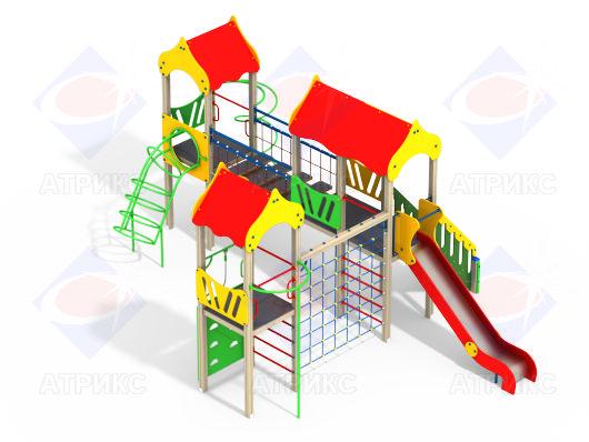Детский игровой комплекс 3.113 купить в Воронеже в интернет-магазине robinzoniya.ru.