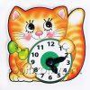 Игра часики Котик (учим время с детьми) Дрофа