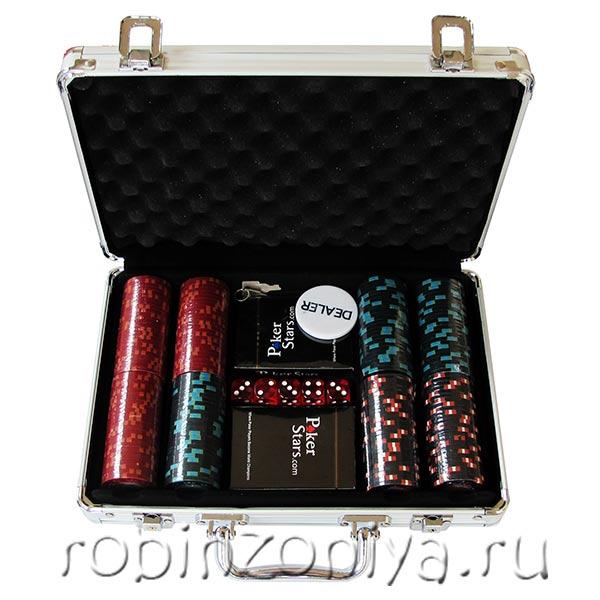 Набор для покера в кейсе на 200 фишек Casino Royale купить в Воронеже в интернет-магазине robinzoniya.ru.