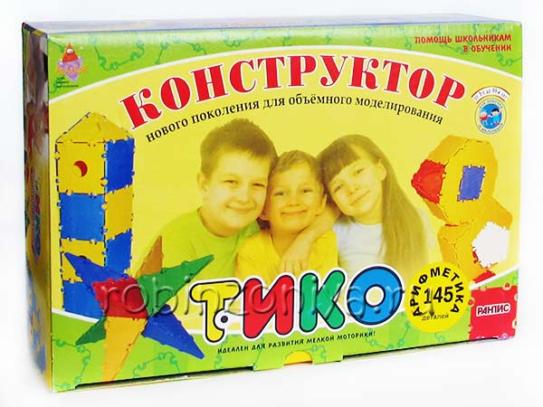 Конструктор ТИКО Арифметика купить в интернет-магазине robinzoniya.ru.