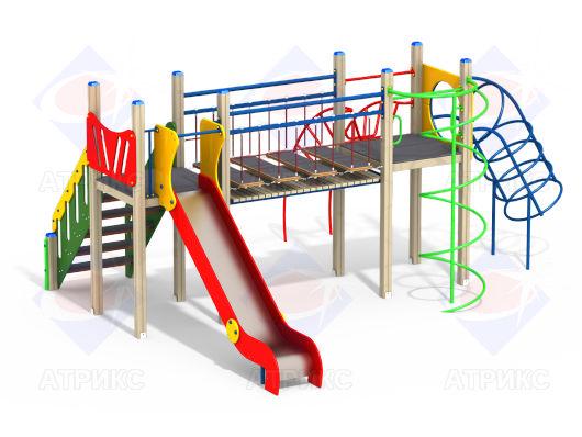 Детский игровой комплекс 2.311 купить в интернет-магазине robinzoniya.ru.