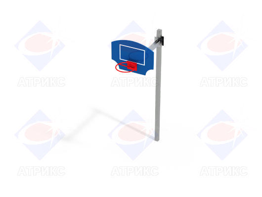 Стойка баскетбольная СО 5.04 купить в Воронеже в интернет-магазине robinzoniya.ru.