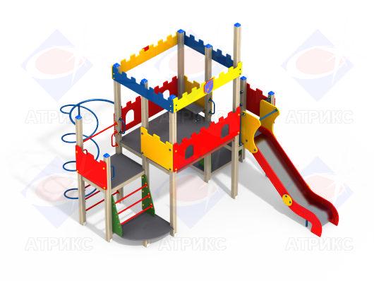 Детский игровой комплекс 9.112 купить в Воронеже в интернет-магазине robinzoniya.ru.