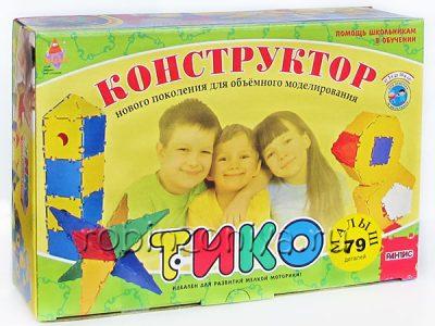 Конструктор ТИКО Малыш 79 деталей