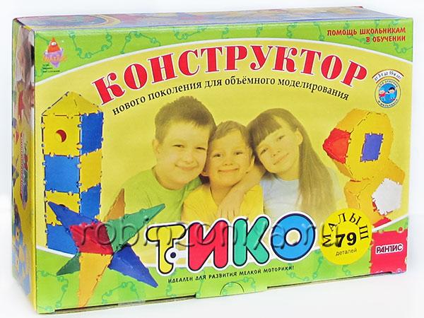 ТИКО Малыш 79 деталей купить в интернет-магазине robinzoniya.ru.