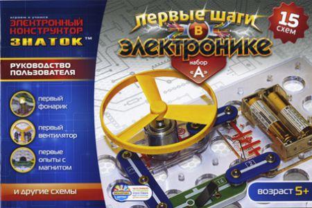 Конструктор Знаток Первые шаги в электронике набор А Конструктор купить в интернет-магазине robinzoniya.ru.